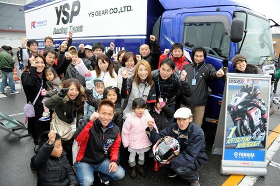 全日本ロードレース選手権第1戦(YSP三郷チーム監督)応援観戦ツーリング!!