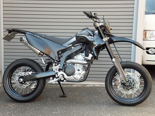 WR250X ZERO-G Mカスタム