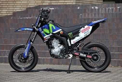 WR250X Lorenzo demo!