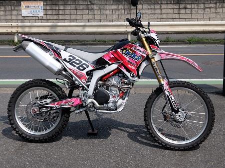 WR250R SGカスタム