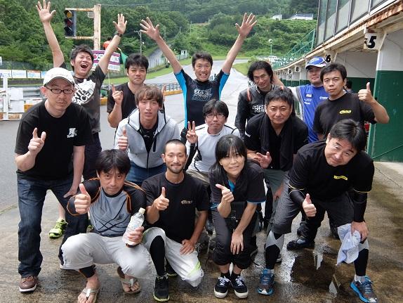 エビスサーキット☆LOVE&PEACEサーキットラン2nd〜♪