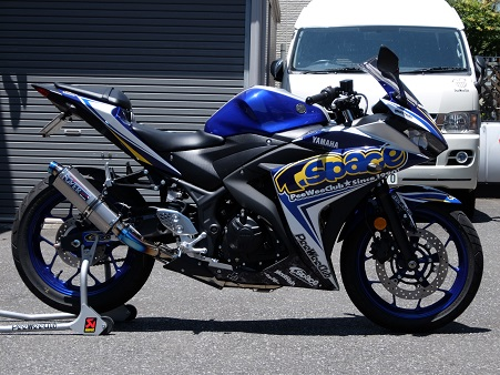 YZF-R25 T-Space demo!