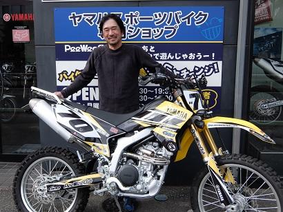 WR250R  TOMOさん!!