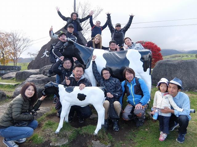 PeeWeeClub大笹牧場ジンギスカンランチツーリング!!