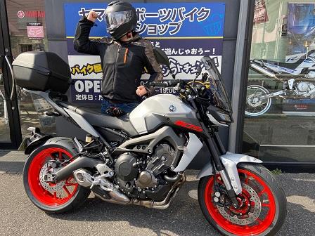 MT-09 ABS ぴくさー!!